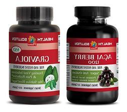 immune plus - ACAI BERRY - GRAVIOLA - graviola extract liqui