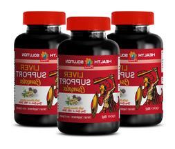 liver detox herbs - LIVER SUPPORT COMPLEX 1200MG 3B- ginseng