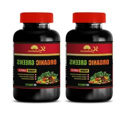 immune support herbal supplement ORGANIC GREENS COMPLEX aspa