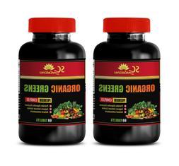 immune support herbal supplement ORGANIC GREENS COMPLEX aspa
