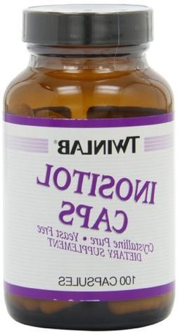 Twinlab Inositol 500 mg Caps, 100 ct