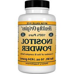 Healthy Origins Inositol Powder, 16 Ounce