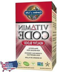 Garden of Life Iron Supplement - Vitamin Code Healthy Blood