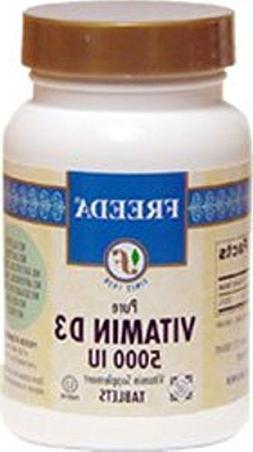 Freeda Kosher Vitamin D3 5000 IU - 250 Tablets