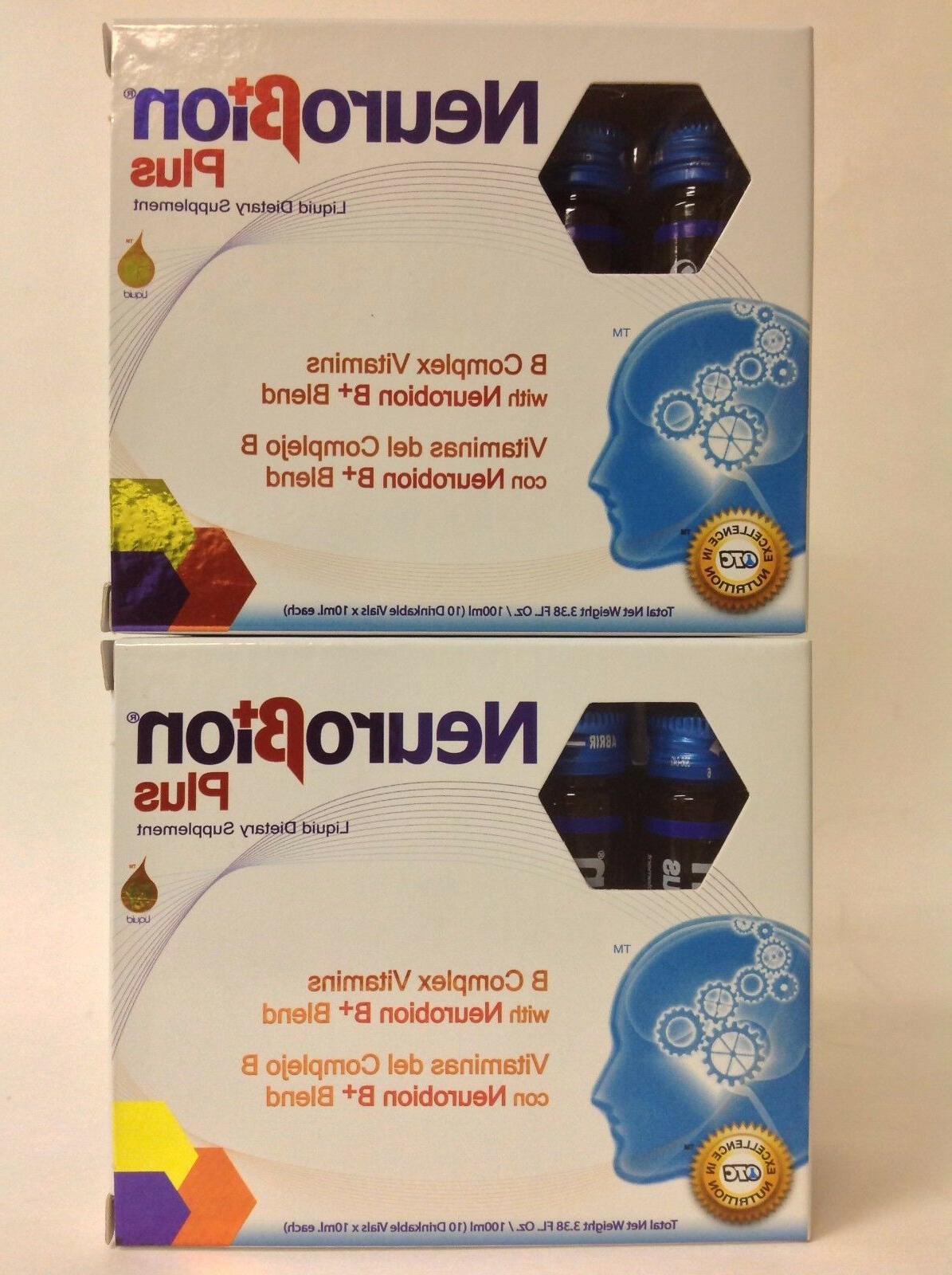 2 NEUROBION B COMPLEX VITAMINS 10 Drinkable Vials EA - COMPLEJO