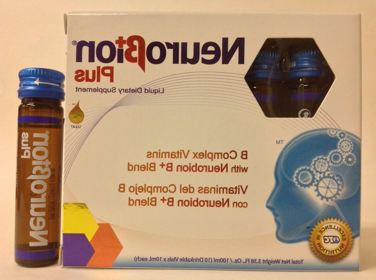 2 NEUROBION PLUS B COMPLEX VITAMINS 10 Drinkable Vials EA -