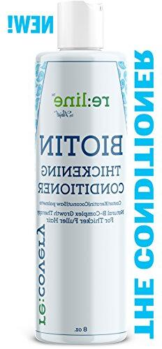 Biotin Hair Growth CONDITIONER For Hair Loss NATURAL Thicken