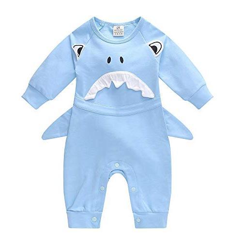 Birdfly Cute Toddler Baby Infant Boy Girl Shark Style Cospla