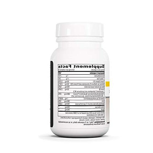 Integrative Therapeutics B-Complex Folate B3, B6, B12, and Choline for Energy Production NSF Certified for -