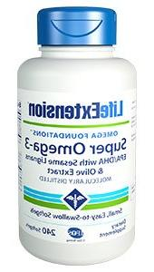 Life Extension - Super Omega-3 Epa/Dha With Sesame & Olive F