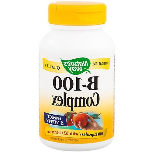 Natures Way Vitamin B-100 Complex Energy And Nerves - Ea