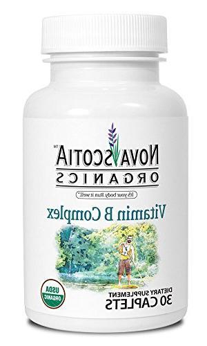 Nova Scotia Organics - Vitamin B Complex - Easy-To-Swallow B