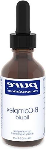 Pure Encapsulations - B-Complex liquid 3.9oz