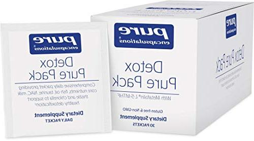 Pure Encapsulations - Detox Pure Pack - Daily Packet With Me