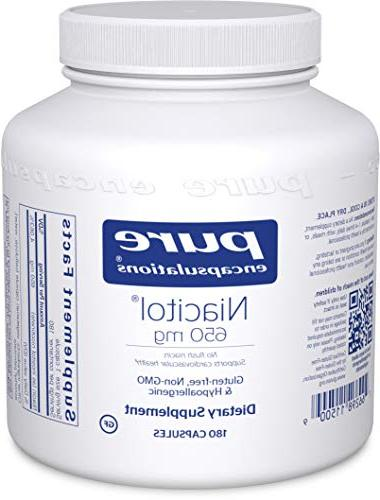 Pure Encapsulations - Niacitol 650 mg - Hypoallergenic No-Fl