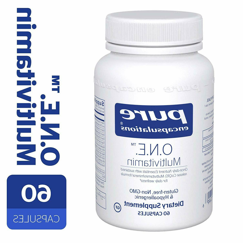 Pure Encapsulations - O.N.E. Multivitamin - Once Daily Nutri