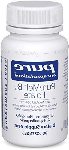 Pure Encapsulations - PureMelt B12 Folate - Sugar-Free Disso