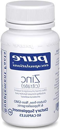 Pure Encapsulations - Zinc  - Highly Bioavailable and Hypoal