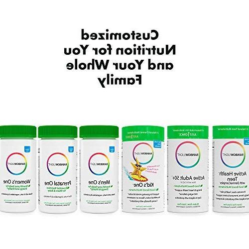 Rainbow - One Multivitamin Supports Energy and Daily and Mineral Supplement, Biotin, -