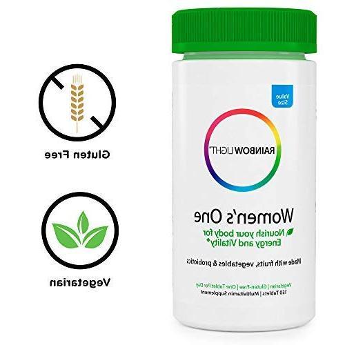 Rainbow One Multivitamin - Energy and Supplement, Biotin, - 150