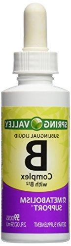 Spring Valley - Vitamin B-Complex Sublingual Liquid, 2 Ounce