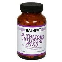 Twinlab - Choline & Inositol Caps 500 mg. - 100 Capsules