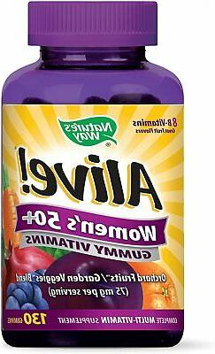 alive 50 gummy multivitamin