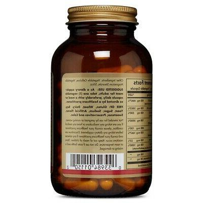 Solgar B-Complex 100 Vegetable Capsules In USA FREE SHIPPING