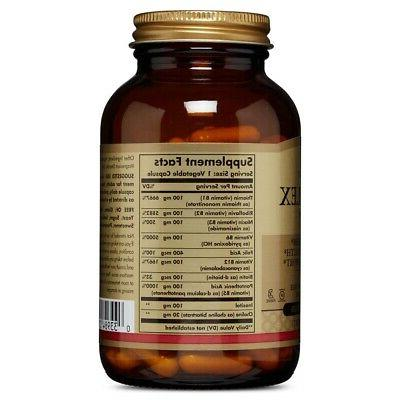 """Solgar """"100"""" Vegetable Capsules Made SHIPPING"""