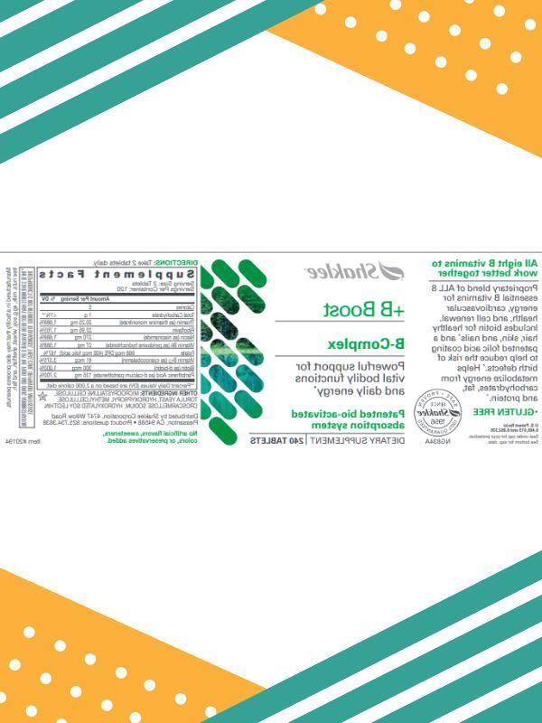 Shaklee ct. B Supplement 2021
