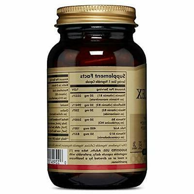 Solgar B-Complex 50 Metabolism for 100 Vegetable