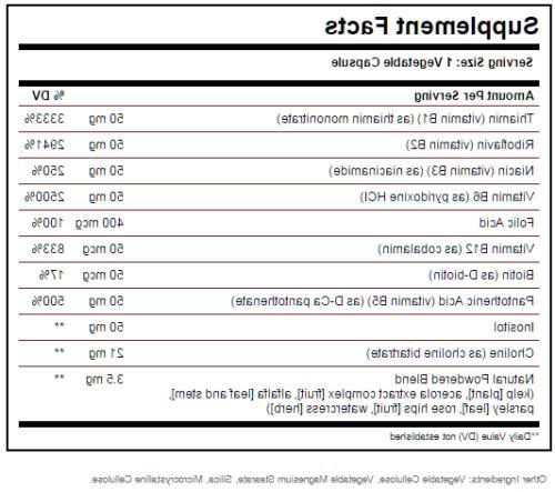 """Solgar B-Complex """"50"""" Vegetable Capsules 250ct"""