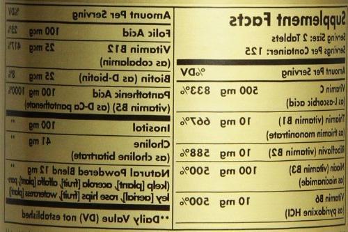 Solgar B-Complex C Stress Formula Tablets - 250