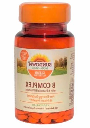 b complex vitamin supplement for energy heart
