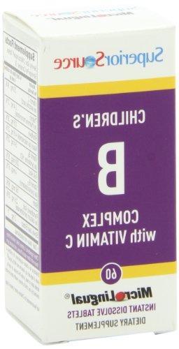 Superior B-Complex Vitamins, 60 Count