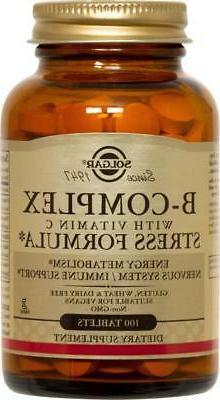 Solgar Solgar B-Complex with Vitamin C Stress Formula Tablet