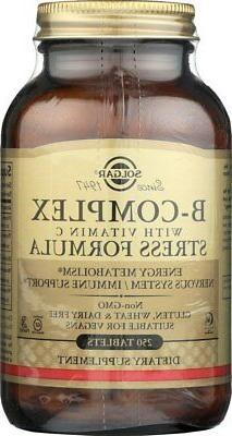 Solgar B-Complex with Vitamin C Stress Formula* 250 Tablets