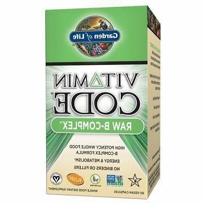 b vitamin vitamin code raw b complex