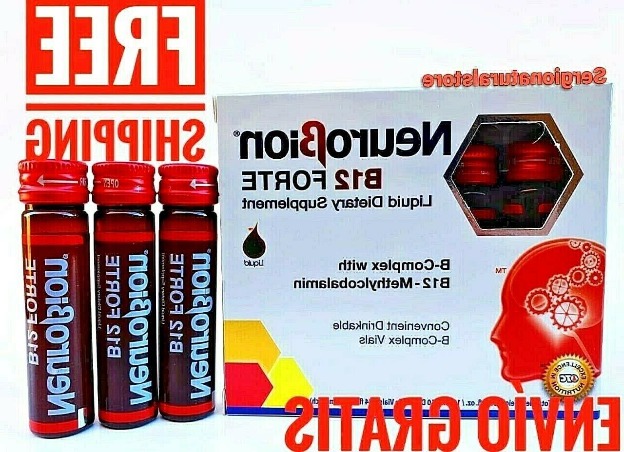 b12 forte 10 drinkable b complex vials