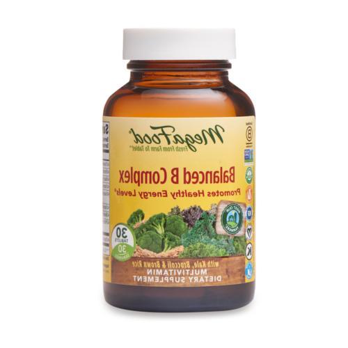 Balanced B Complex DailyFoods - Vegetarian MegaFood 30 Tabs