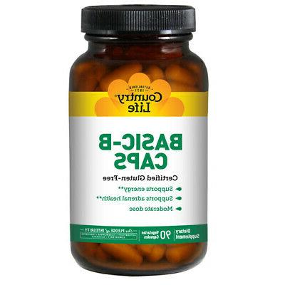 basic b b complex 90 caps 25