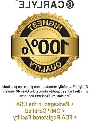 Carlyle Biotin 10000mcg Fast Dissolve Maximum Skin, and Nail Vitamin Pills, Free