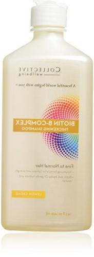 Collective Wellbeing Biotin B-Complex Thickening Shampoo, Le