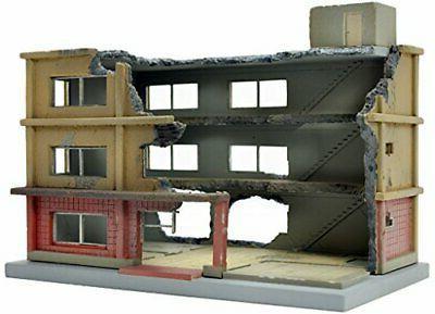 building 152 apartment complex under demolition b