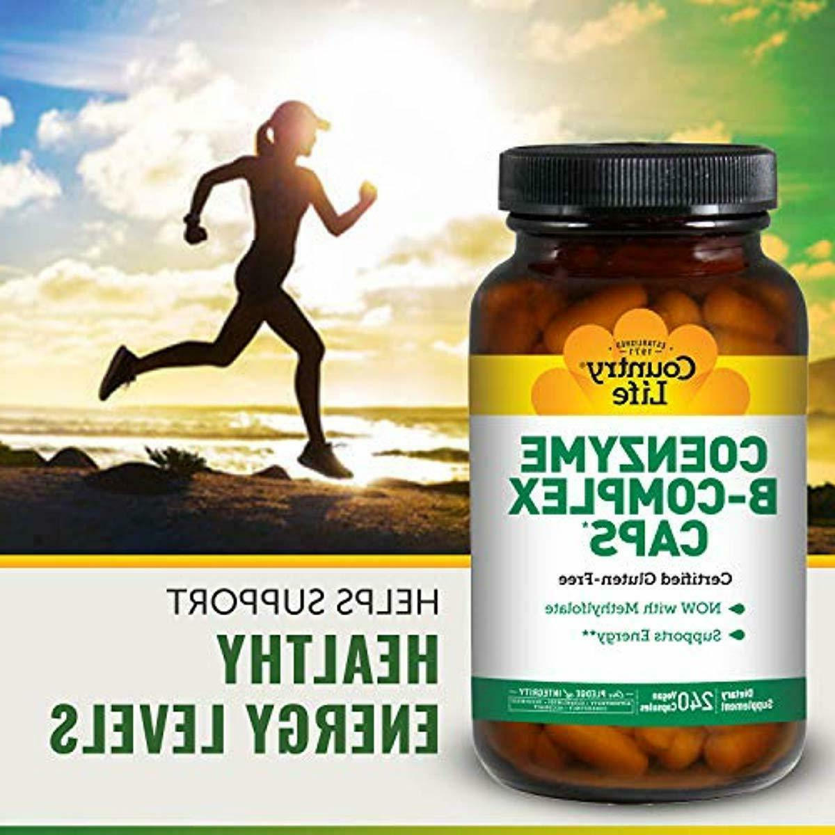 Country Life Coenzyme B-Complex with 240