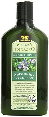 Avalon Organics Conditioner, Volumizing Rosemary, 11 Ounce b