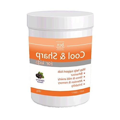 cool sharp nutritional supplement