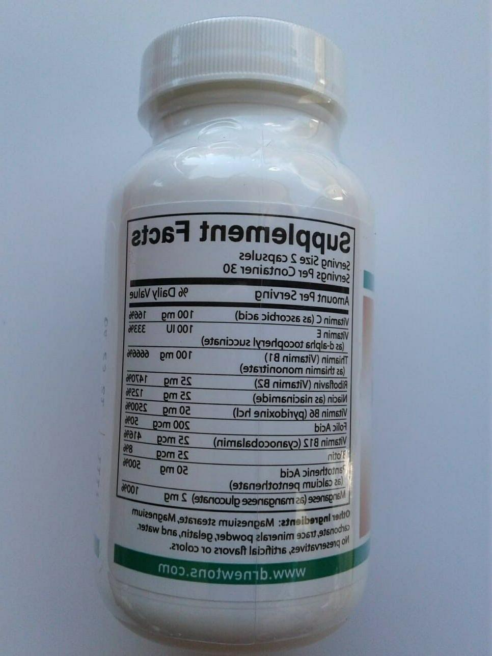 Dr Newton's Naturals B100 Complex Supplement 60 Capsules