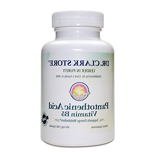 dr pantothenic acid supplement
