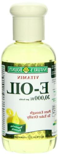 Nature's Bounty E Oil 30,000IU, 2.5 Ounce